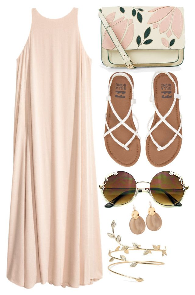 Festival/Beach Day by designbecky on Polyvore featuring polyvore, fashion, style, Billabong, Accessorize, Alexis Bittar and clothing
