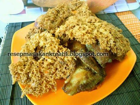 Resep Ayam Goreng Kremes | Resep Masakan Indonesia (Indonesian Food Recipes)