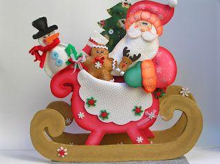 Las 25 mejores ideas sobre trineo de navidad en pinterest for Trineo madera decoracion