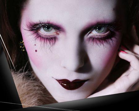 571krt08fall2011: Dark Circus Makeup Inspiration