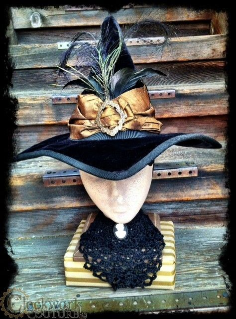 steampunk witch hat - Google Search