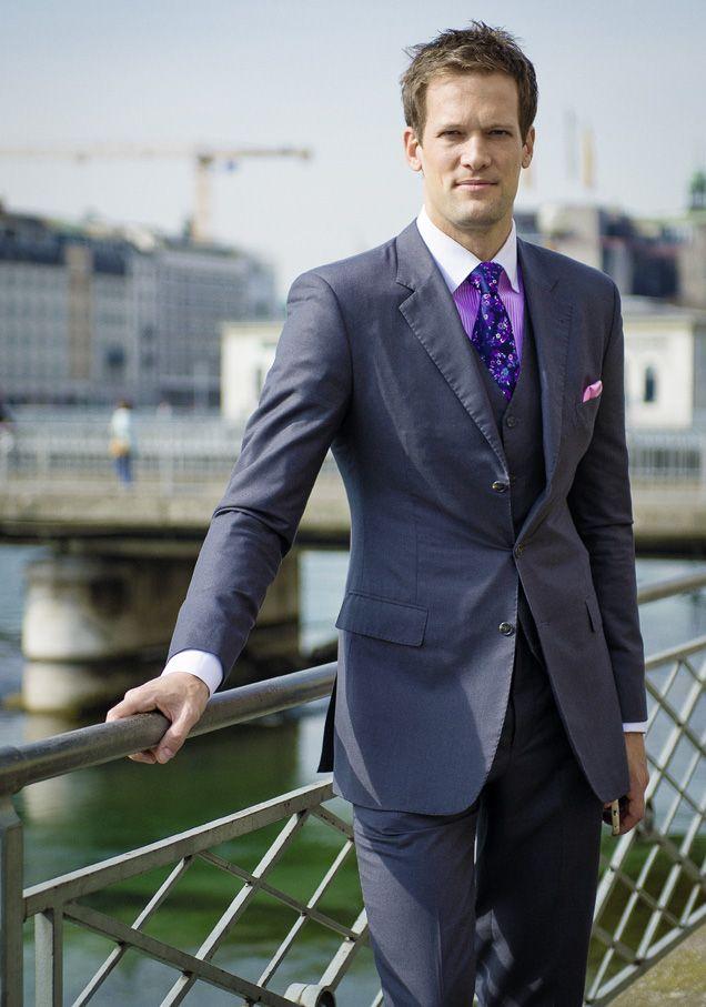 Le champion suisse qui a conquis Dubaï. Yann Mrazek (ici à Genève) s'est installé dans l'émirat en 2006. © Guillaume Mégevand