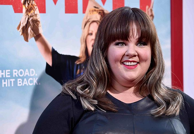 Melissa McCarthy let her hairdresser do whatever he wanted. We like!