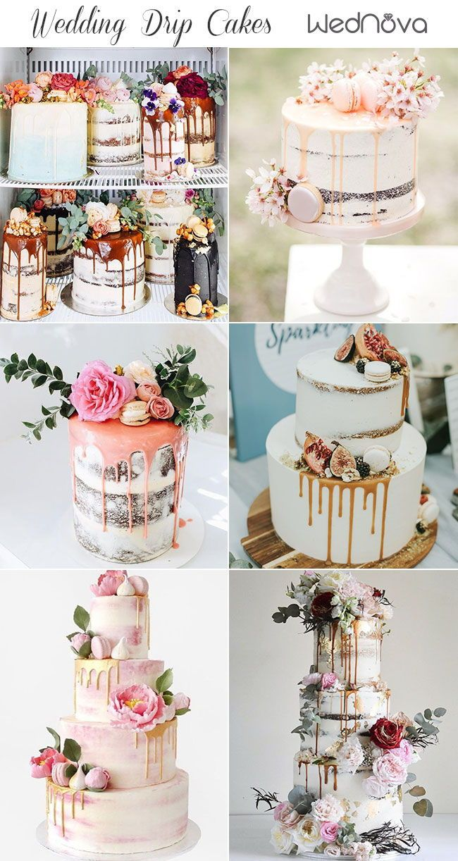 15 Most Unique Floral Wedding Cakes Ever That Will Inspire You