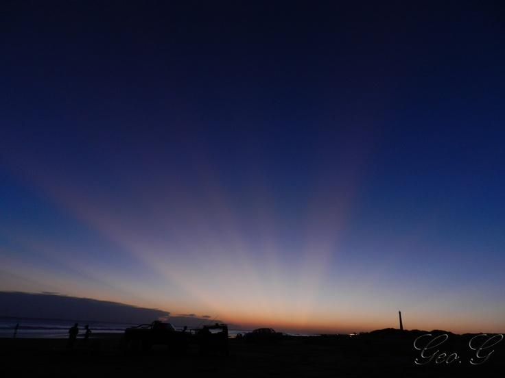 Sunset in Claromeco, Arg.