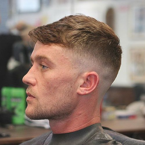 Peaky Blinders Hair - Textured Crop with High Skin Fade