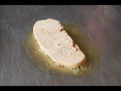 Escalopes de foie gras frais poêlées - Comment cuire le foie gras poêlé par Chef Simon
