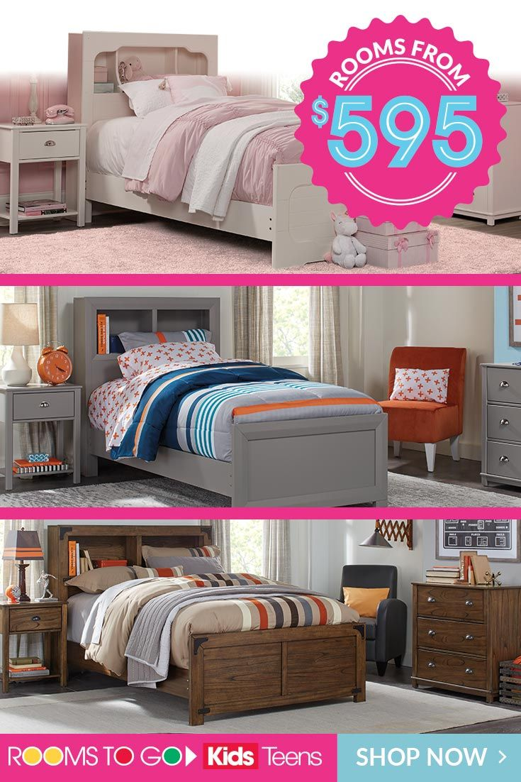 Save on Kids and Teens furniture for boys and girls during Rooms To ...