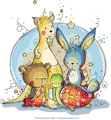 The Fab Four by Rachelle Anne Miller, via Flickr