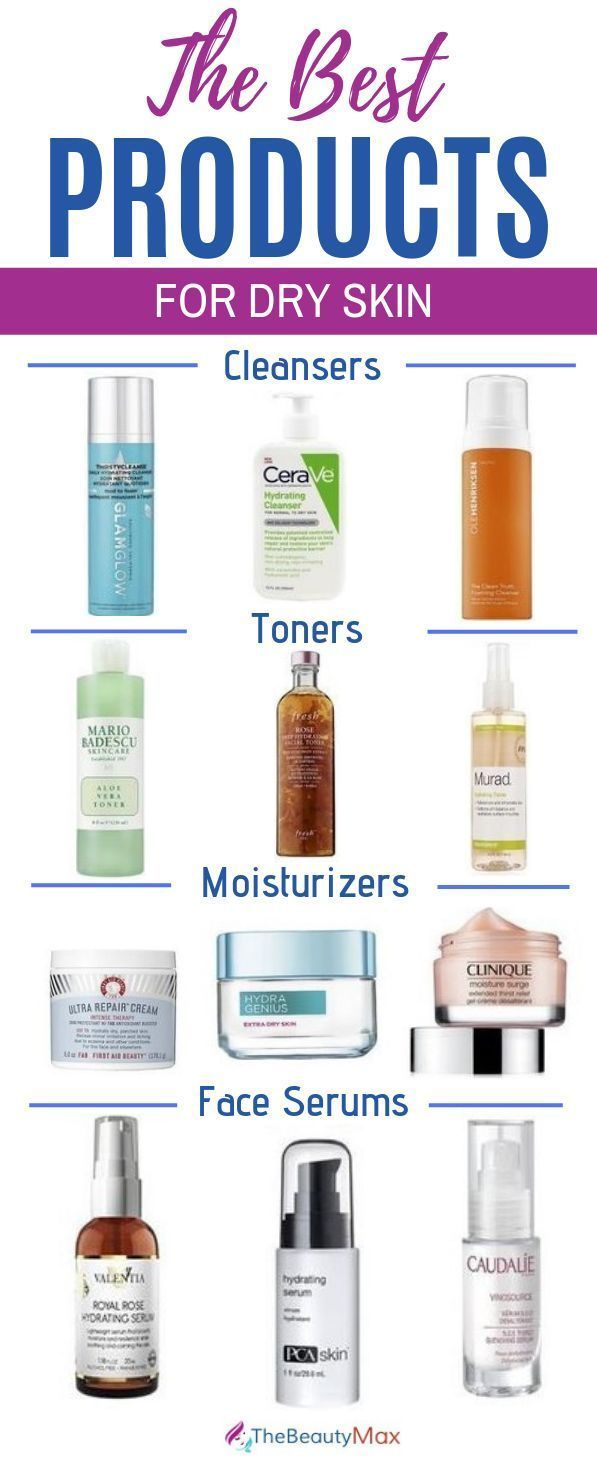 Best Products For Dry Skin Of 2019 According To Dermatologist In 2020 Skin Cleanser Products Dry Skin Cleansers Moisturizer For Dry Skin