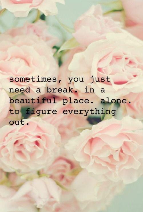 Sometimes…..