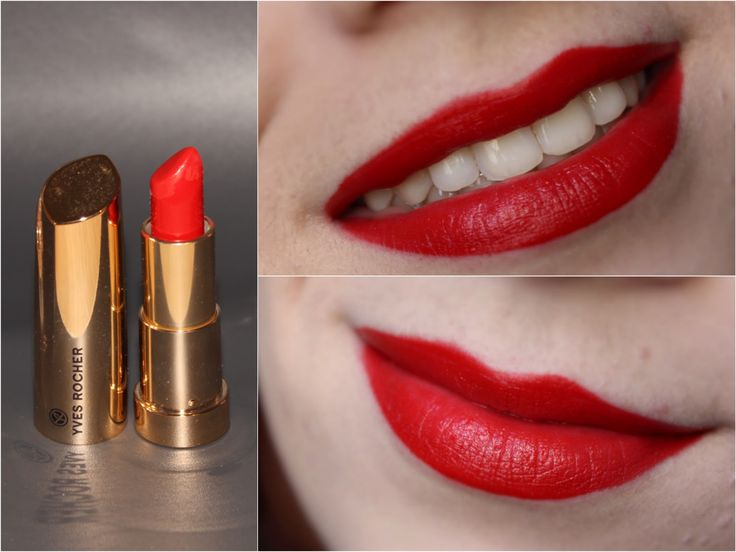 Yves rocher rouge vif grand rouge melanie swallow - Coloration rouge vif ...