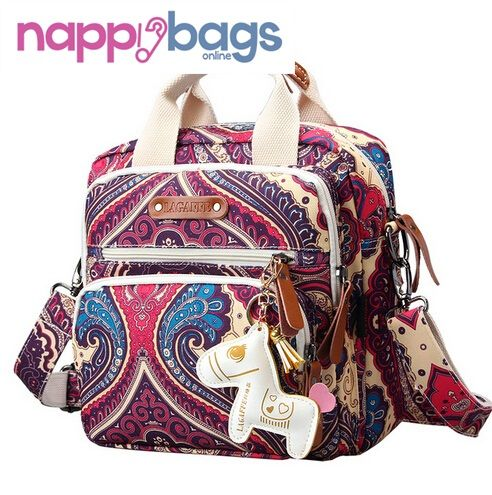 Alejandra Pattern Multifunction Baby Nappy Diaper Carry Bag //Price: $52.48 & FREE Shipping //     #parenting