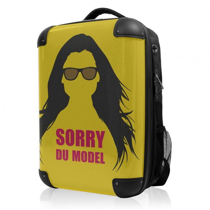 """BLNBAG - Rucksack Weich/Hart Hybrid Design: Sorry du Model in Gelb, 50 cm, 28 Liter;  Gelber #Rucksack aus der Serie """"BLNBAG"""" von #Hauptstadtkoffer.  #Hartschalenkoffer #Handgepäck #Gelb #Koffer #Travel #Luggage #Reisen #Urlaub #yellow #model => mehr Gelbe Koffer: https://hauptstadtkoffer.de/de/reisegepack/alle-produkte?color=134"""