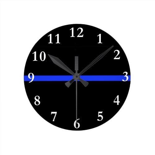 Thin Blue Line: Police Stand Between Us and Them Round Clock