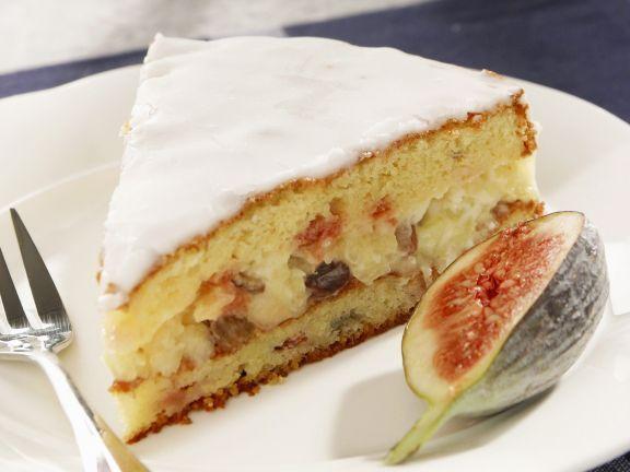 Festliche Feigentorte ist ein Rezept mit frischen Zutaten aus der Kategorie Obstkuchen. Probieren Sie dieses und weitere Rezepte von EAT SMARTER!