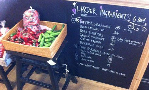 The Larder Cafe Food Market
