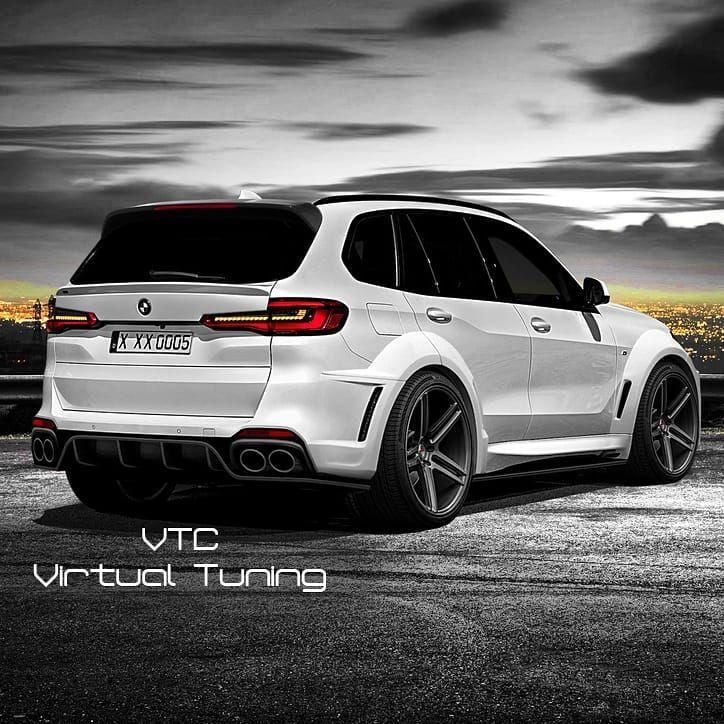 Bmw X5: Наши работы. 🔽 #vtc #vt #virtualtuning #виртуальныйтюнинг