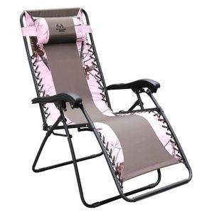 Realtree Pink Zero Gravity Chair | Zero gravity chair ...
