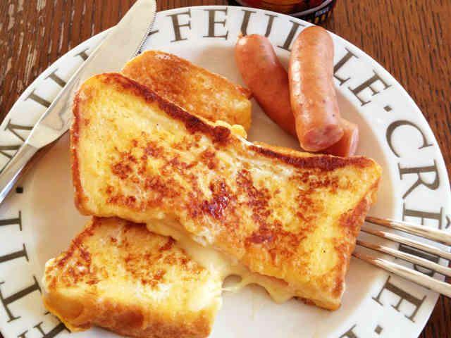 ポケットサンドでお食事フレンチトースト♡の画像