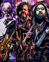 Widespread Panic Art Print, WSP