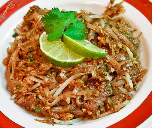 Beef pad thai... I really want to learn how to cook this...and make it great!