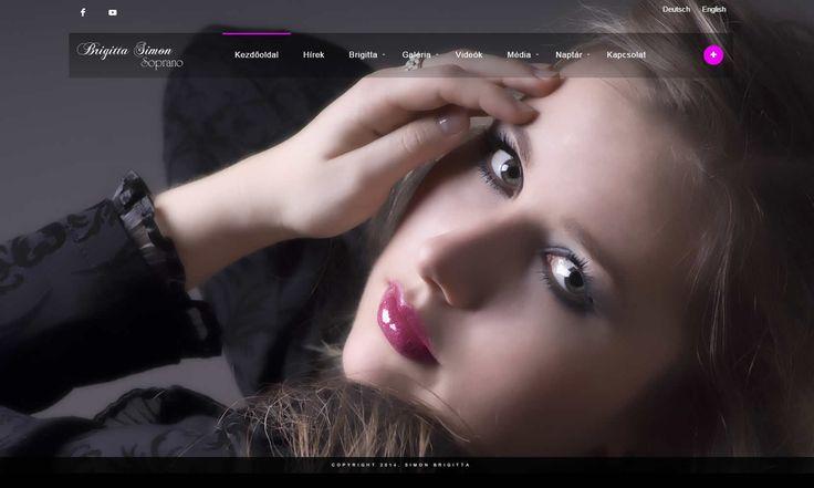 Brigitta Simon Hivatalos oldala
