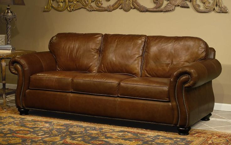 Bernhardt Leather Sofa Home Decor