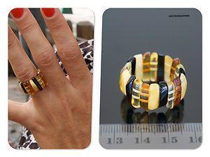 @Joyas de ámbar (Amber jewelry) Anillo elastico de ambar baltico (Baltic amber elastic ring)