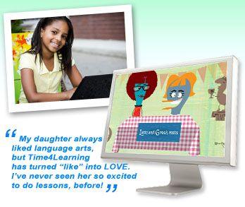 Time4learning英文自學網站
