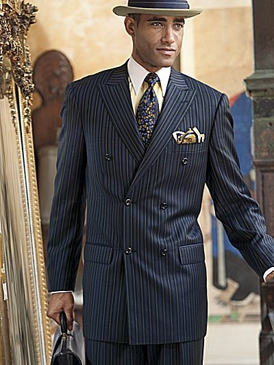 Paul Fredrick suit!