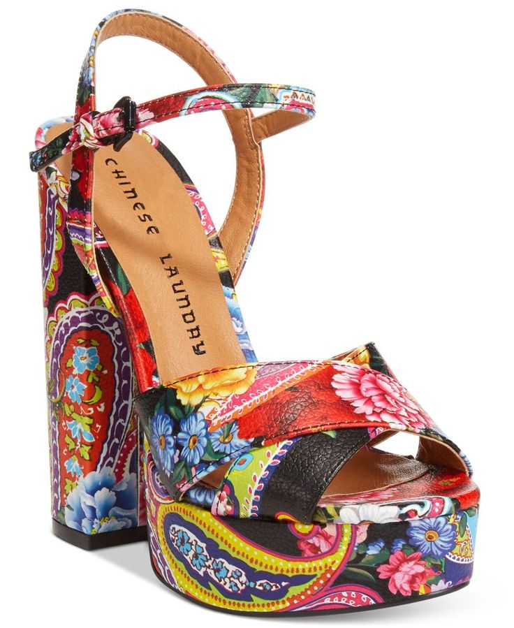 Chinese Laundry Aquarius Two-Piece Platform Sandals