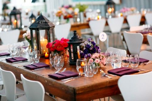 purple wedding: Lantern Centerpieces, Centerpiece Wedding, Wedding Ideas, Weddings, Google Search, Lanterns, Flower