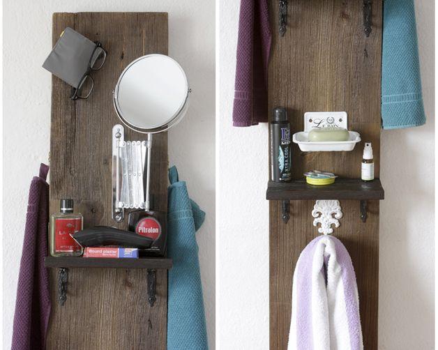 """Badregale - board für waschgelegenheit, """"lavabo mobile2"""" - ein Designerstück von mareEmonti bei DaWanda"""