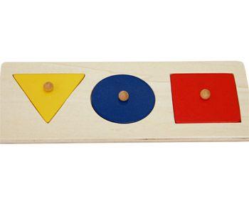 Puzzle - geometrické tvary KB