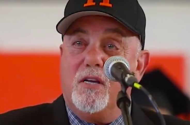 Billy Joel gives the commencement speech at his Long Island alma mater: Watch