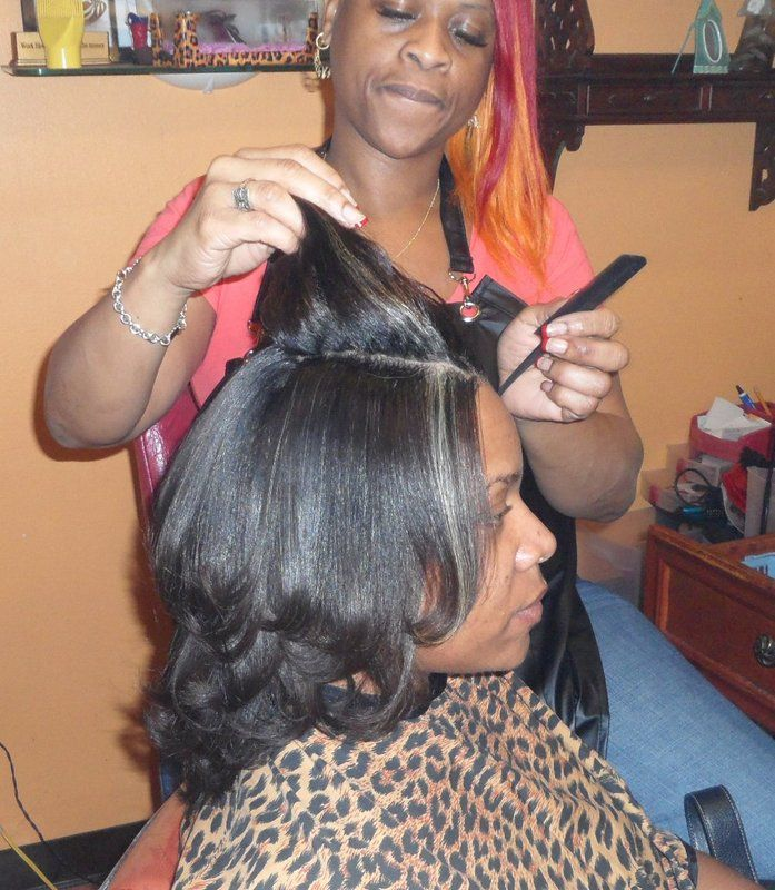 Trendz by Tammy in the Houston and Pearland area is creating beautiful healthy soft black hair styles for the professional woman and the busy collage student. We specialize in relaxers, sew in hair weaves, keratin protein hair straightening treatments, natural hair styles, dreadlocks and precision short hair cuts. Call Trendz by Tammy Black Hair Salon today 832-443-5335