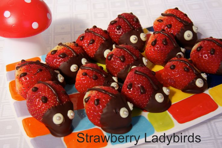 These cute little ladybirds were a hit at my daughter's Spring Garden theme party. Visit www.notanotherslipperydip.com for details