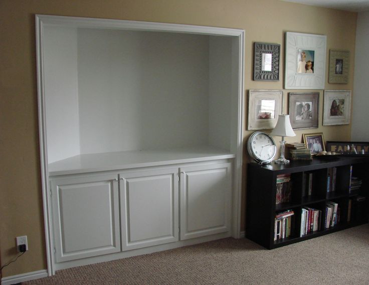 Turning Closet Into Cupboards Converted Home