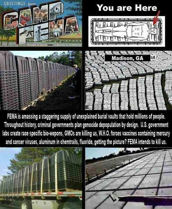 Sixth image of Concentration Camps Martial And Camps On Pinterest with Fema Camp history repeats   Martial law can suck it ...