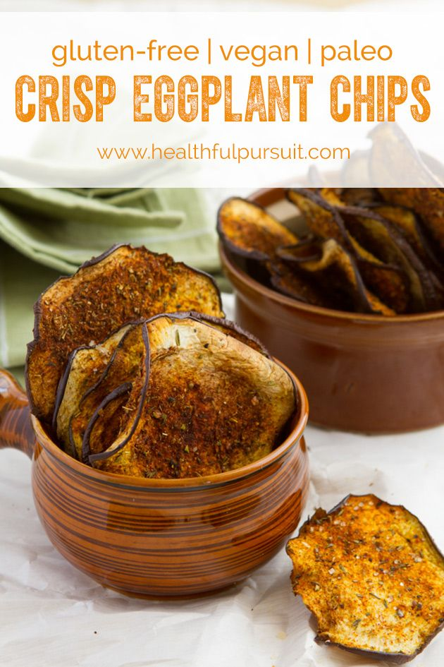 Crisp Eggplant Chips with Smoky Seasoning - Healthful Pursuit