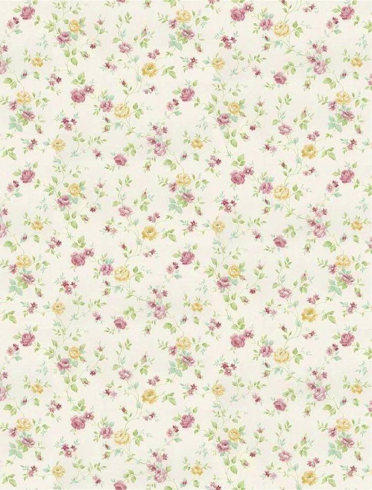 Fine DecorWallpaper | Balmoral Garden Miniature - Pink | Lancashire Wallpaper and Paint