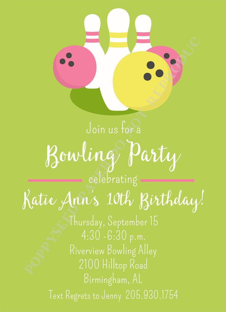 7 best Bowling party images on Pinterest   Beer, Birthday ideas ...