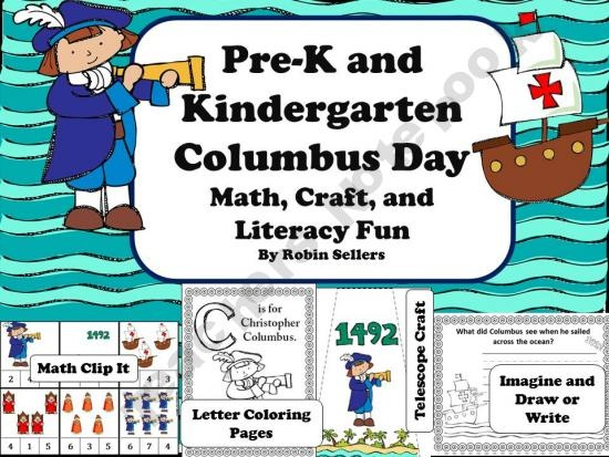 49 best Columbus Day Printables  More images on Pinterest