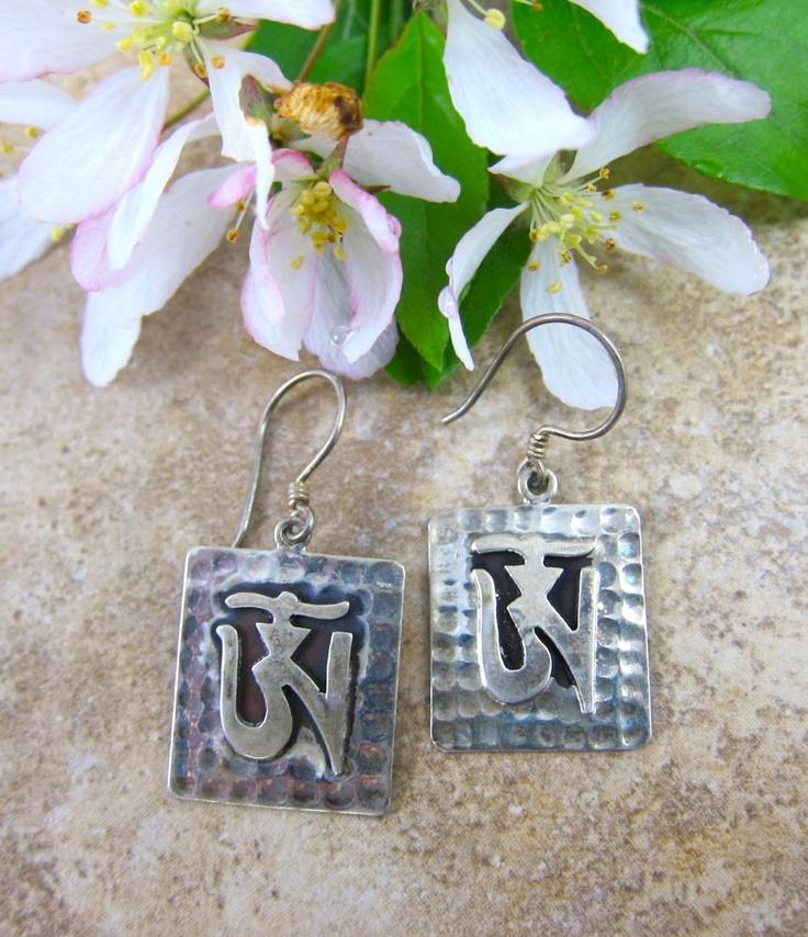 Dharmashop.com - Solid Silver OM Earrings, $59.00 (http://www.dharmashop.com/solid-silver-om-earrings/)