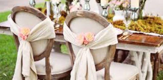 Decoratie stoel