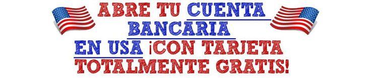 REGISTRO GRATIS AQUI: http://www.gratiscuentabancariaenusa.tk/ Cómo abrir una cuenta en USA totalmente GRATIS para cobrar comisiones de Paypal y ClickBank, Como cobrar paypal, Cobrar clickbank, Abrir una Cuenta de Banco en USA, Conseguir Una Tarjeta De Debito Internacional, Tutorial payoneer en español, BONO DE 25 DOLARES EXTRA GRATIS. PIDE TU TARJETA PAYONEER GRATIS http://www.gratiscuentabancariaenusa.tk/