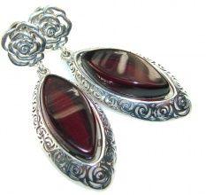Island Dream!! Russia Amber Sterling Silver earrings