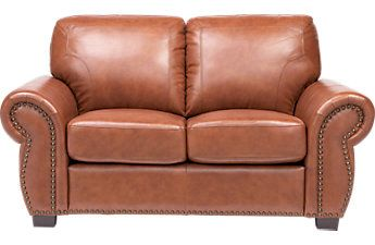 Leather Loveseat Styles: Reclining Leather Loveseats in Black, White, & more