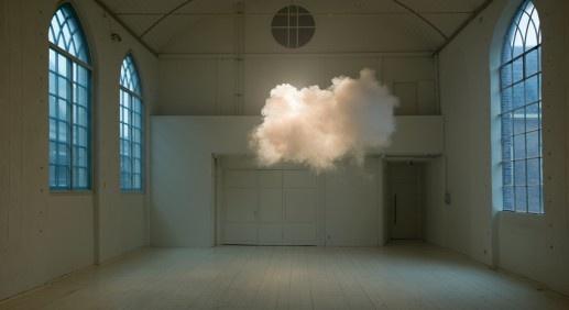 Berndnaut Smilde creates artificial clouds. Photo by Cassander Eeftinck Schattenkerk.